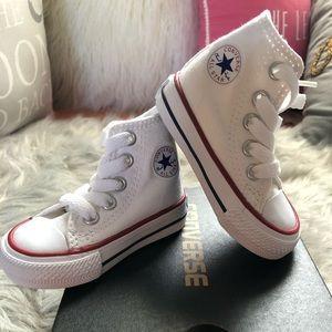 NEVER WORN! Baby Converse Chuck Taylors